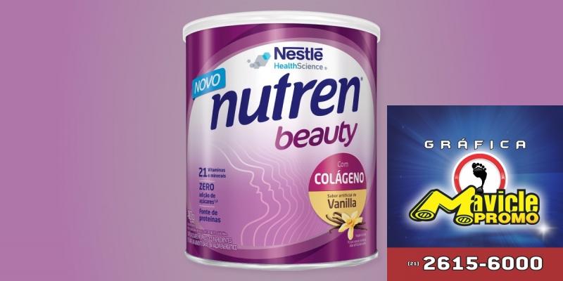 A Nestlé amplia o portfólio com o Nutrem Beauty   Guia da Farmácia   Imã de geladeira e Gráfica Mavicle Promo