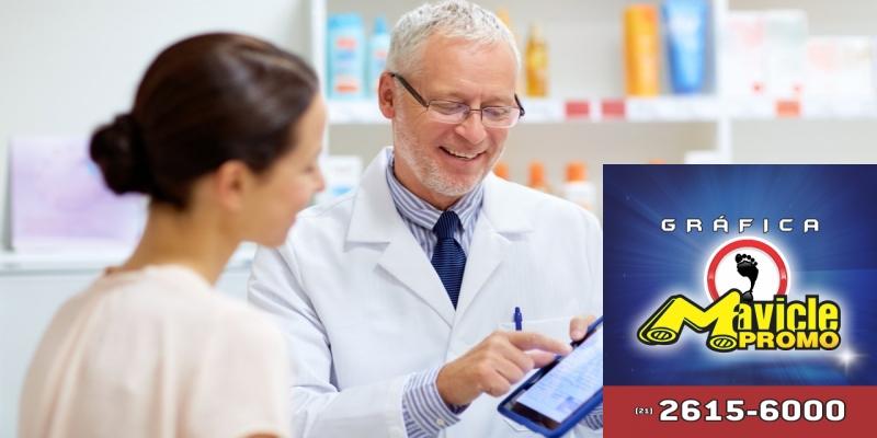 Receita digital no serviço de Farmácia Popular   Guia da Farmácia   Imã de geladeira e Gráfica Mavicle Promo