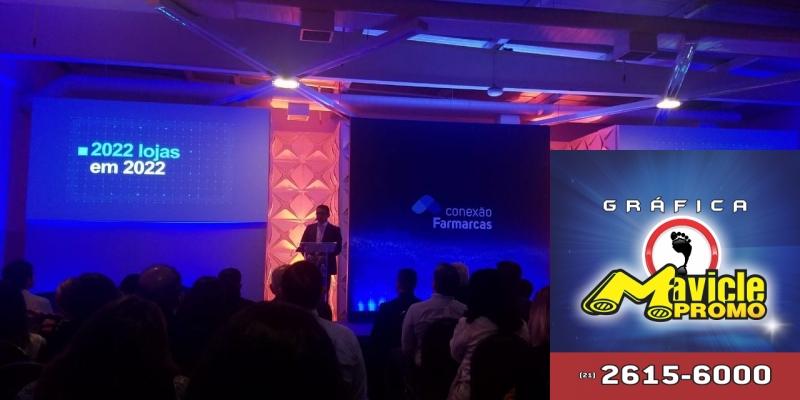 Acesso Farmarcas comemora resultados expressivos   Guia da Farmácia   Imã de geladeira e Gráfica Mavicle Promo